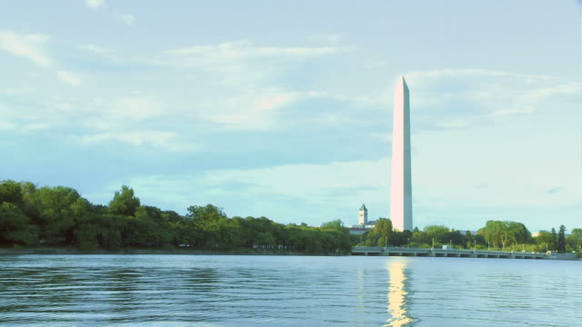 Washington Monument Over Water video