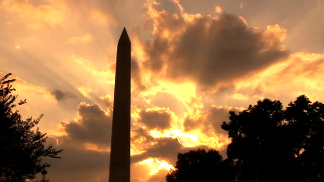 Washington Monument, time lapse video
