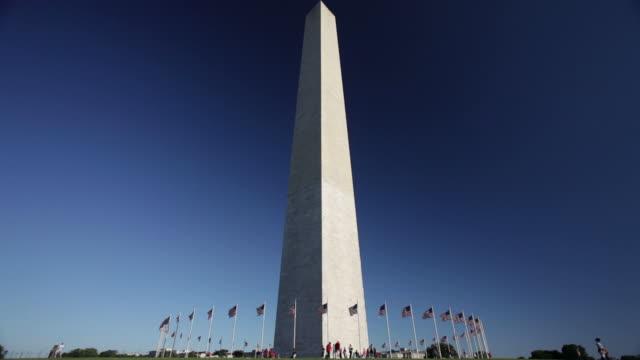vídeos y material grabado en eventos de stock de monumento a washington - memorial day