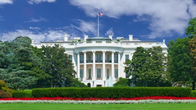 ワシントンのホワイトハウス映画 - 民主主義点の映像素材/bロール