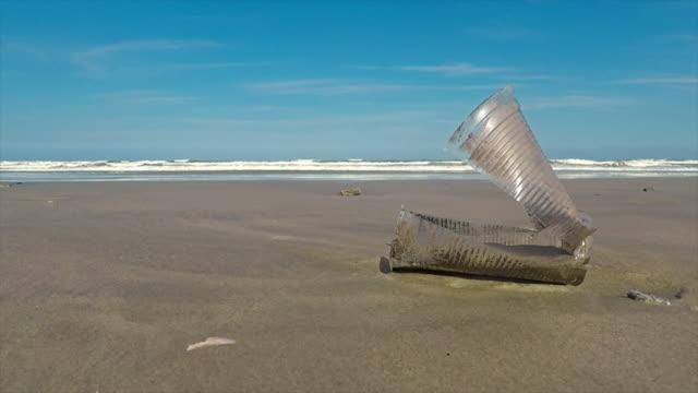 海での廃棄物します。 - 生態系点の映像素材/bロール