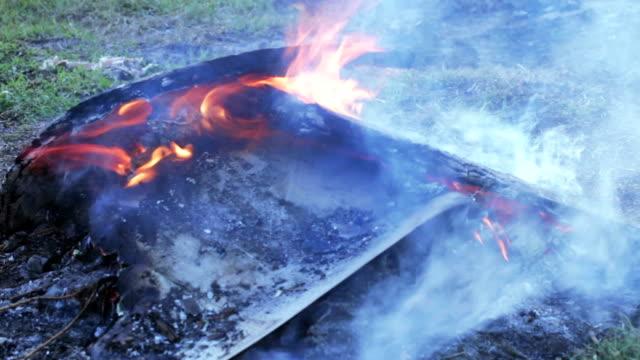 Waste incineration video