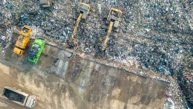 Waste pollution operation