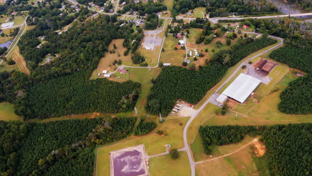 Wastewater Treatment Plant Next to Creek video