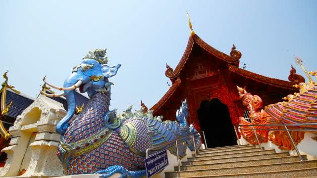 Wat Ban Den or Wat Den Sa Li Sri Mueang Kaen Temple in Chiang Mai Thailand video