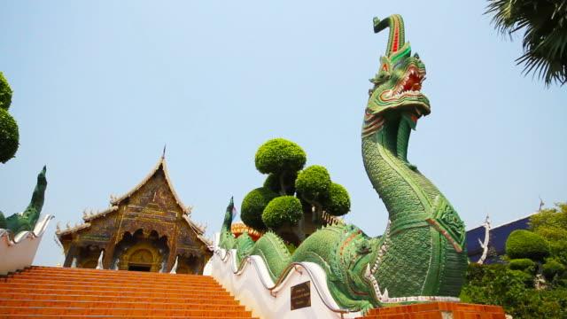 Wat Den Sa Li Sri Muang Kaen Temple in Chiang Mai Thailand video