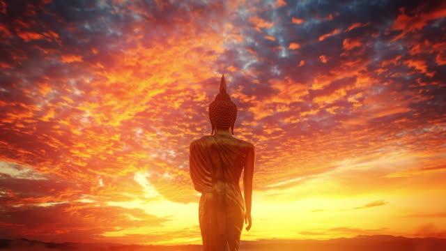 wat khao noi  nan thailand - buddha video stock e b–roll