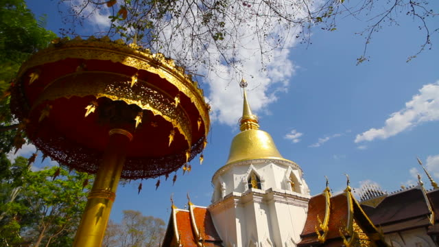 vídeos de stock e filmes b-roll de wat padarapirom temple in chiang mai thailand - dia de reis