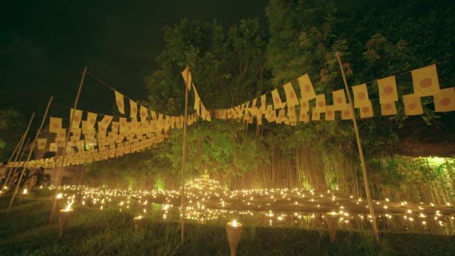 Wat Pan Tao temple in Chiang Mai, Thailand video