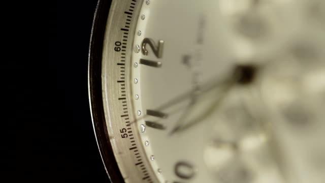 Watch, Macro Of Clock Face video