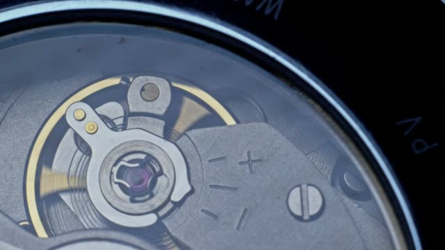 Watch mechanism macro.