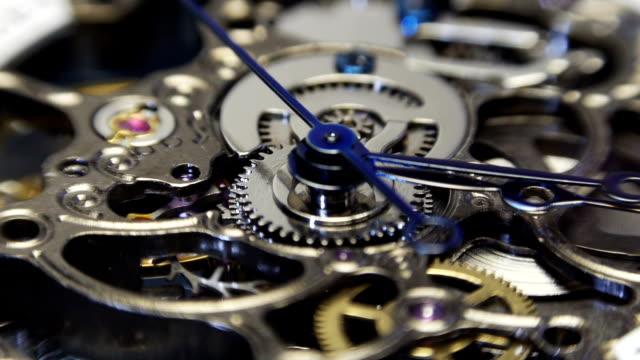 watch spinning, nahaufnahme - steckschlüssel stock-videos und b-roll-filmmaterial