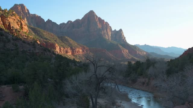 Watchman Sunset Zion National Park Utah video