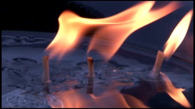 Water and Swimming Candles video