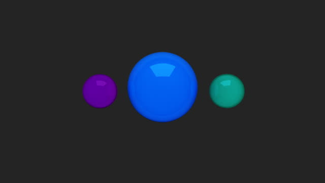 Water circle diagram flow chart, 3 result circle presentation templete 2 video