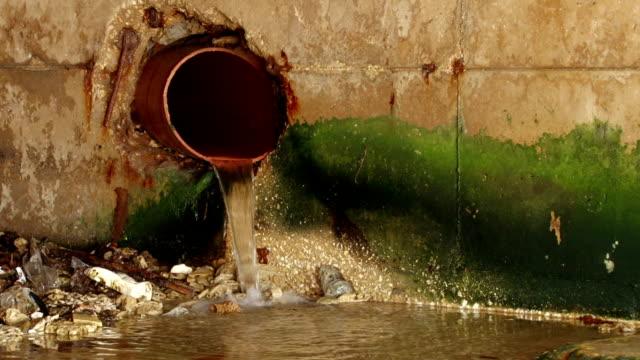 水ドレイン - 有害物質点の映像素材/bロール