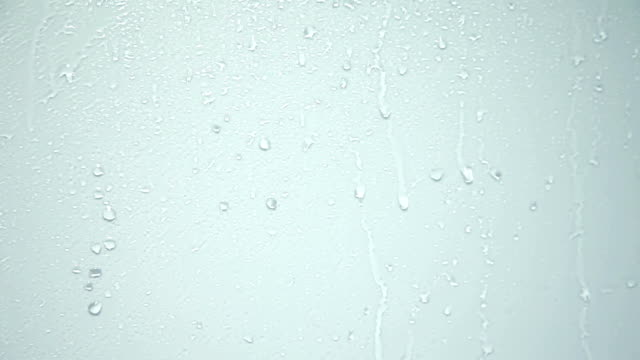 HD CLOSE UP: Water drops HD1920x1080: High quality produced HD iStock Footage Clip of a smooth surface full of water drops which are dried with hairdryer and are slowly disappearing from the shiny surface steam stock videos & royalty-free footage