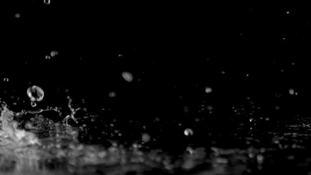 water drops video