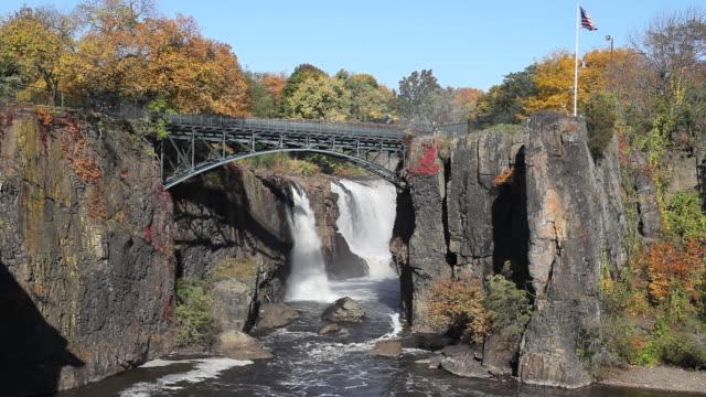 Water Falls in Autumn
