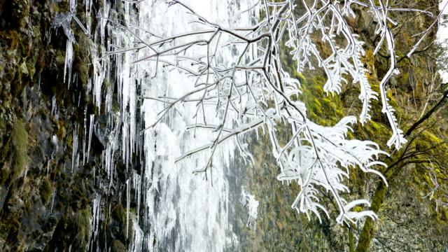 water falls - icicle bildbanksvideor och videomaterial från bakom kulisserna