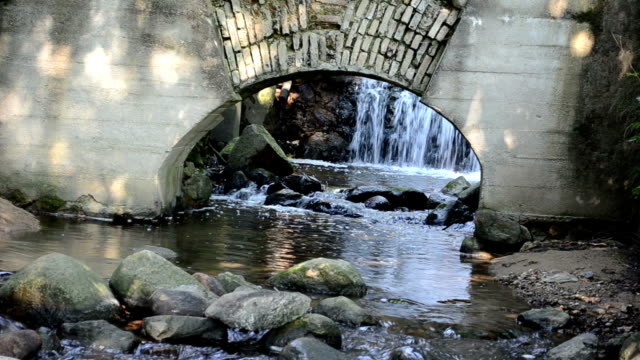 water flow mill arch video