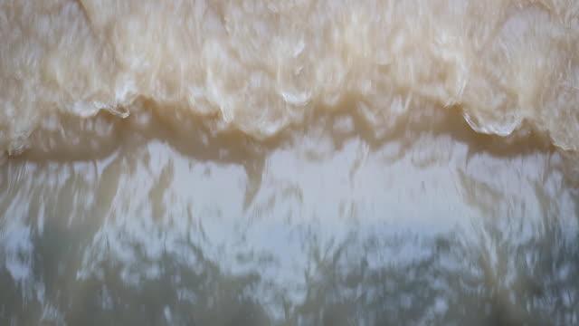 Water flowing video