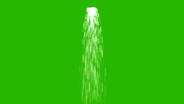Water Flows in a Stream and Loop on a Green Screen Background Water Flows in a Stream and Loop on a Green Screen Background running water stock videos & royalty-free footage