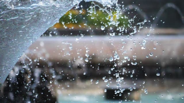 Water Fountain Super Slow Motion
