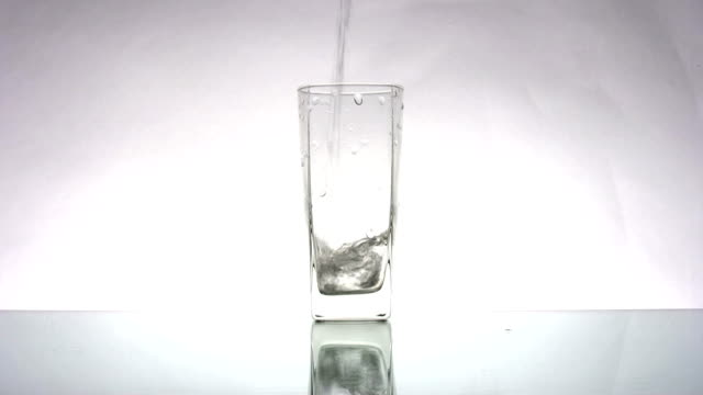 Water glass video