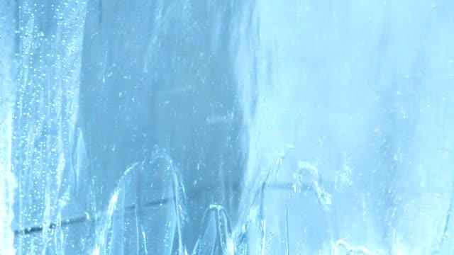 water in shower video