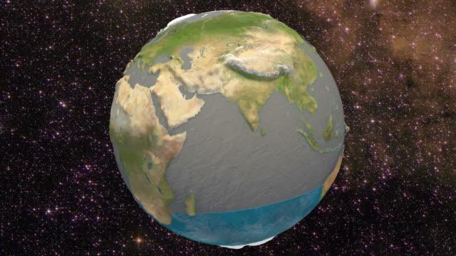 3d water on earth. 4k. ultra hd. - tap water filmów i materiałów b-roll