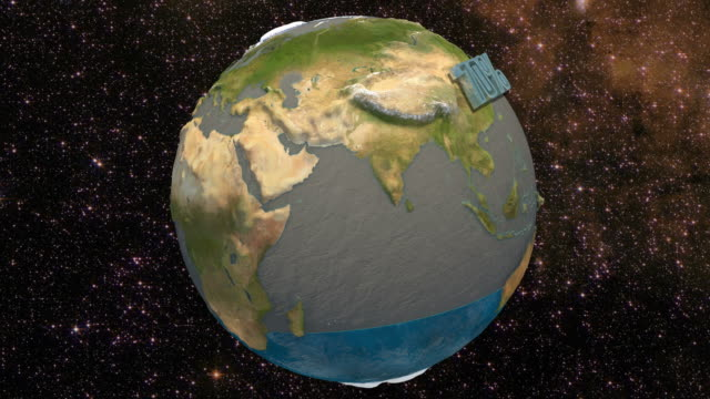 3d water percentage in the earth. 4k. ultra hd. - tap water стоковые видео и кадры b-roll