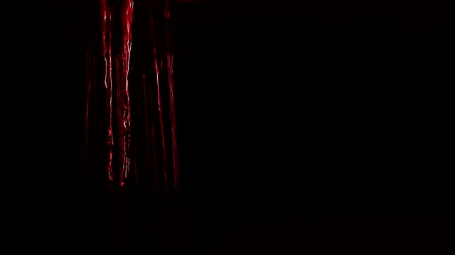 Water red background video