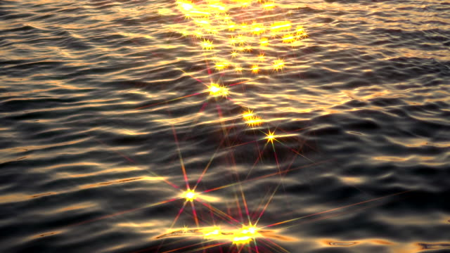 Water reflection - stars video
