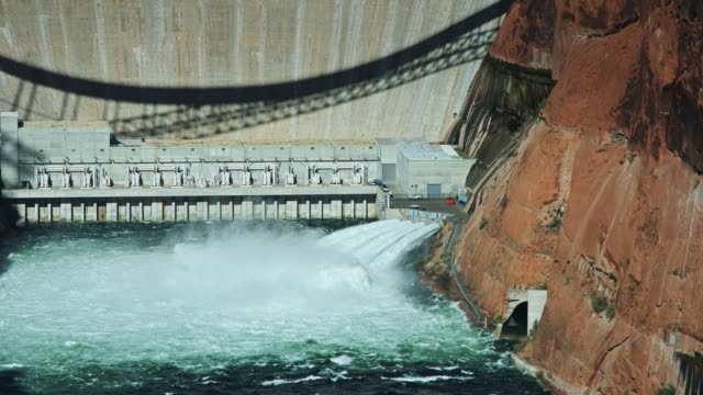 Water Release from Glen Canyon Dam video