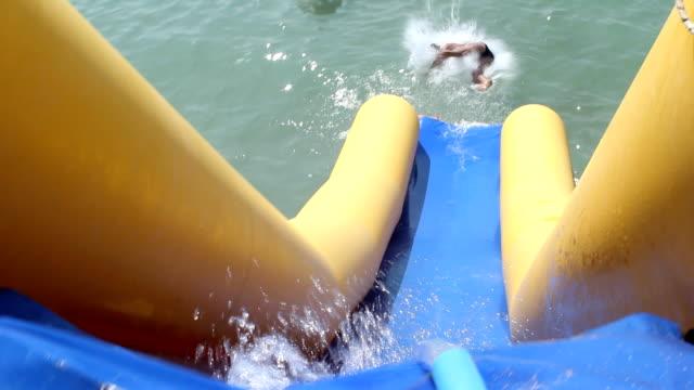 Water slide video