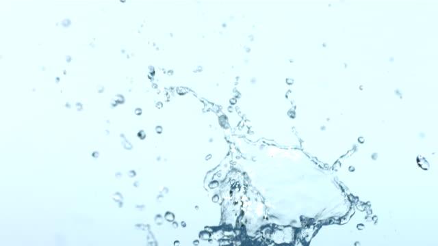 Water splash series, slow motion video