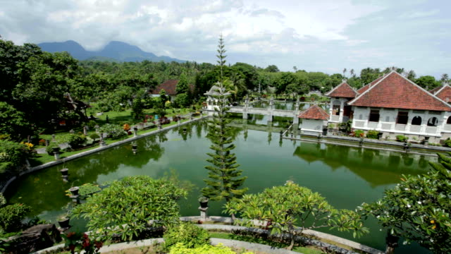 Water temple in Bali video