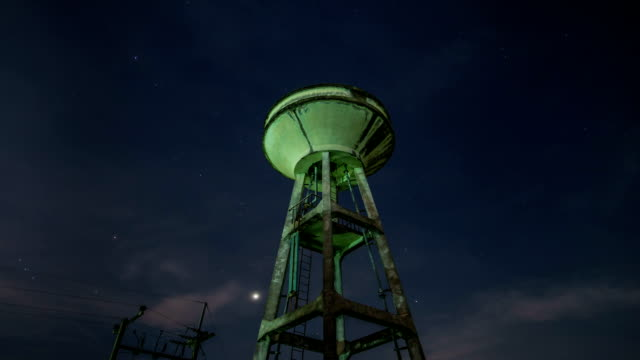 Water Towers and Stars. video