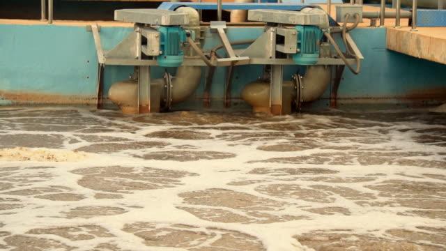 water treatment plant - acquedotto video stock e b–roll