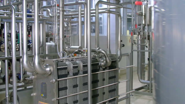 Water Treatment Plant. Water purification system equipment Water Treatment Plant. Water purification system equipment. FullHD purified water stock videos & royalty-free footage