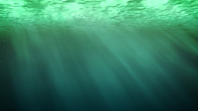 vídeos de stock, filmes e b-roll de verde subaquático da água - esmeralda