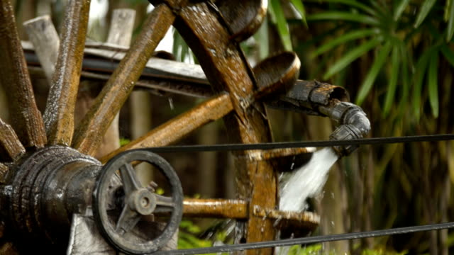 Royalty Free Wood Water Wheel Turbine The Use Of Water Power For ...