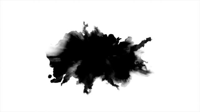watercolor paint effect - kropla filmów i materiałów b-roll