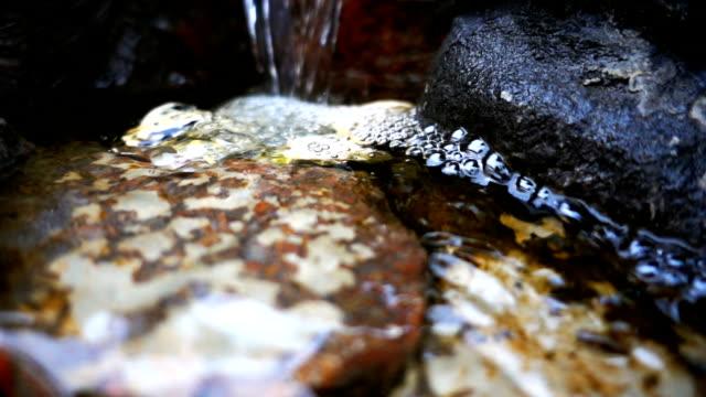 滝や岩石 - 湧水点の映像素材/bロール