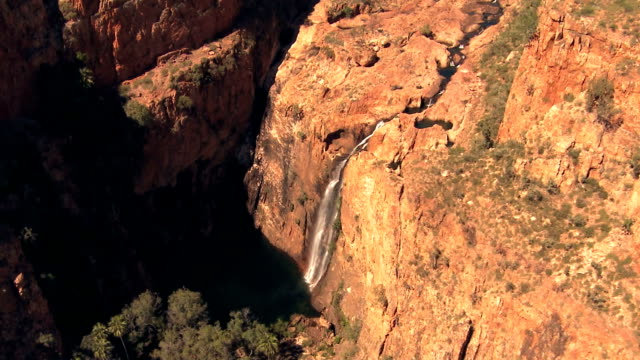 Waterfall flyover -australia video