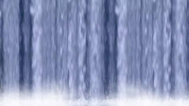 waterfall fountain water falling waterfall fountain water falling padding stock videos & royalty-free footage