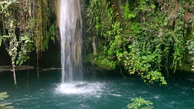 Waterfall in Antalya video