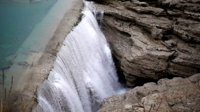 Waterfall in Montenegro video