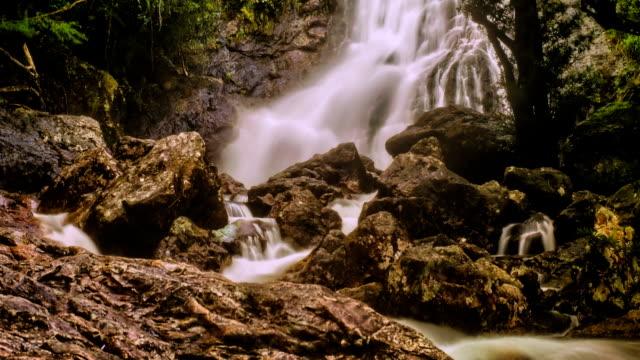 Waterfall in Thailand rainforest video